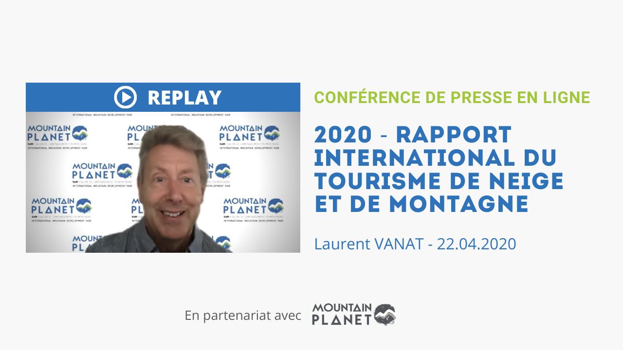 Mountain Planet partenaire du «Snow Report 2020» de Laurent Vanat