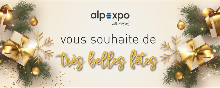 Alpexpo vous souhaite de très belles fêtes de fin d'année